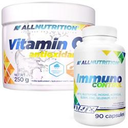 Immuno Control 90kap + Vitamina C 250g GRATIS
