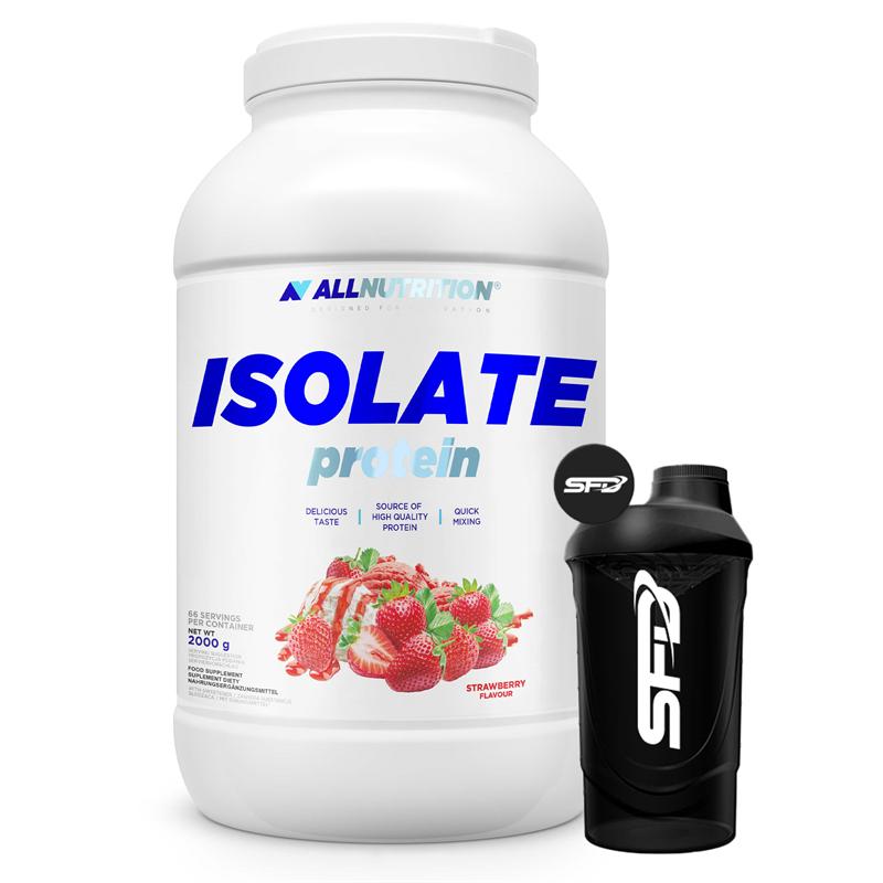 ALLNUTRITION Isolate Protein 2000g + Shaker GRATIS
