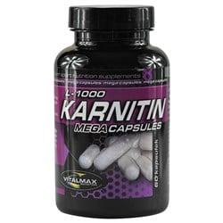 Karnitin L-1000 Mega Capsules