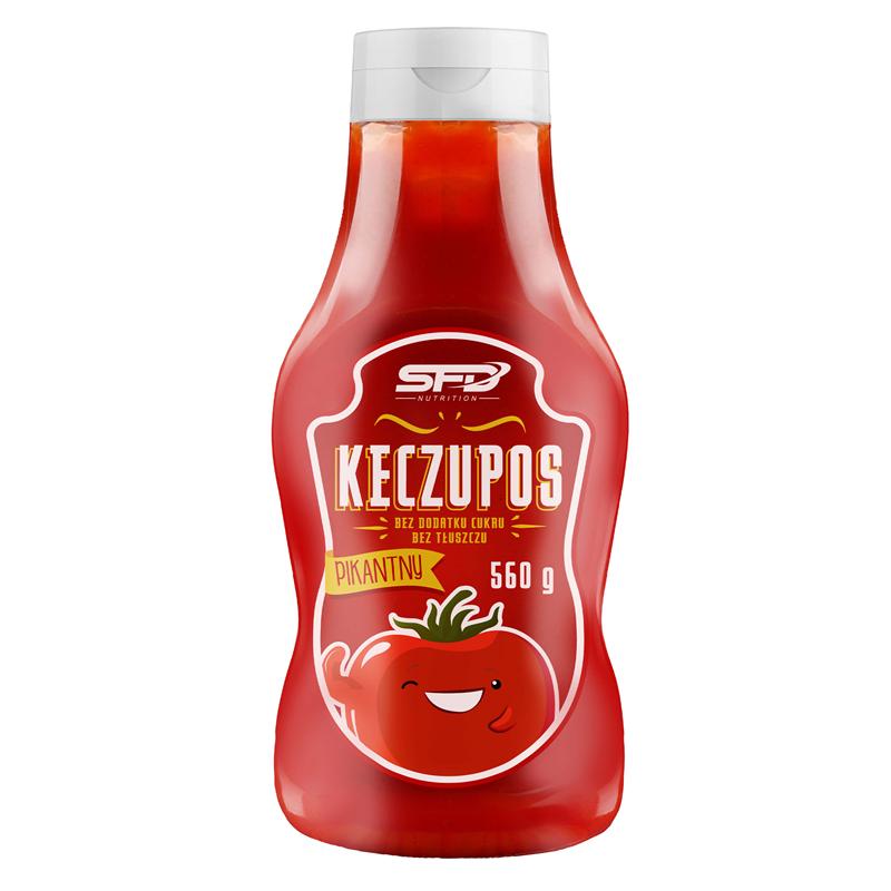 SFD NUTRITION Keczupos Pikantny