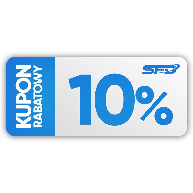 SFD NUTRITION  Kupon rabatowy 10%