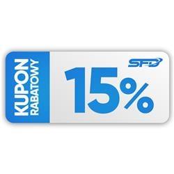 Kupon rabatowy 15%