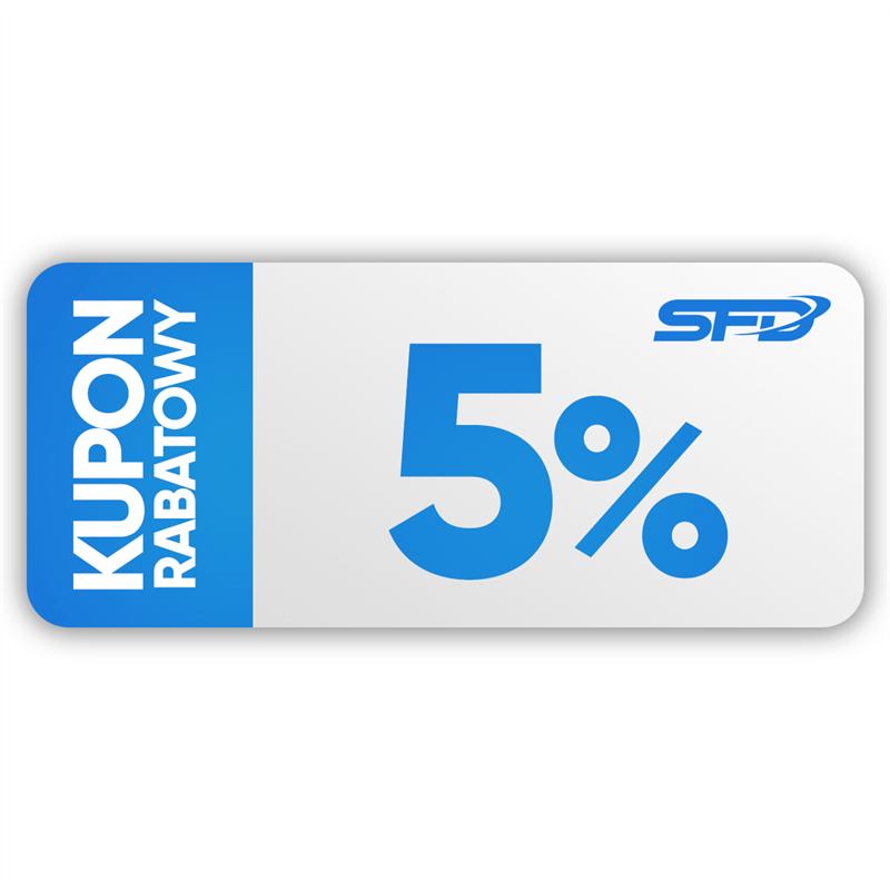 SFD NUTRITION  Kupon rabatowy 5%