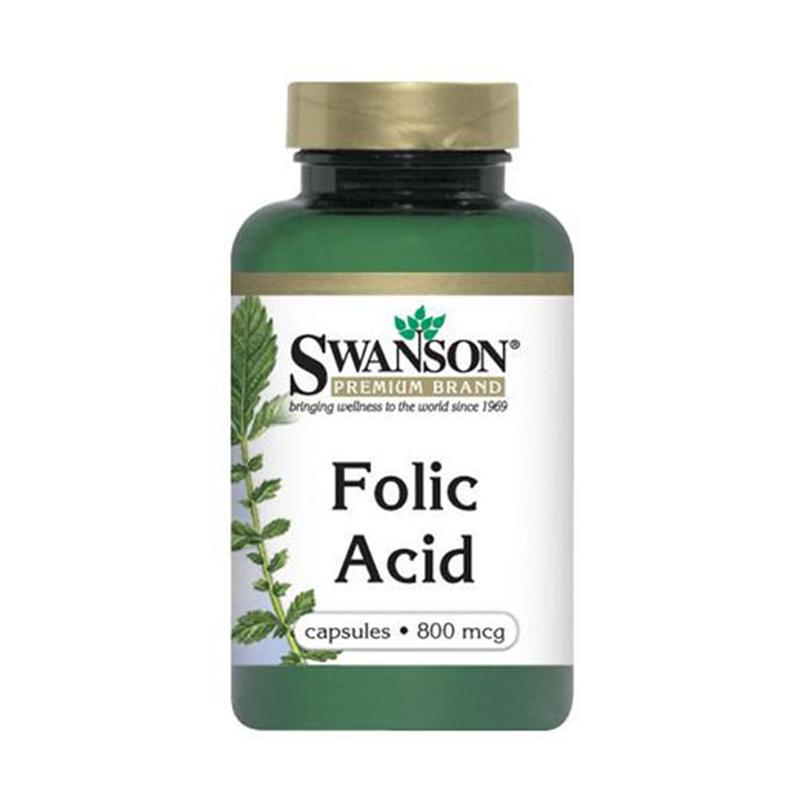 Swanson Kwas Foliowy Folic Acid