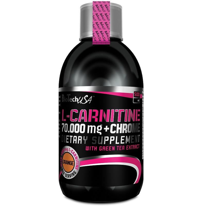 BioTechUSA L-Carnitine 70.000 + Chrome