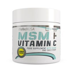 MSM + Vitamin C