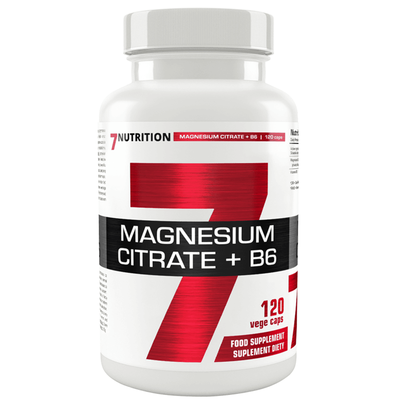 7Nutrition Magnesium Citrate + B6