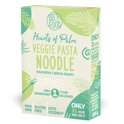 Makaron z serca palmy noodle - pudełko