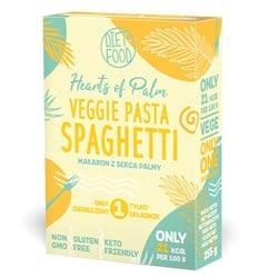 Makaron z serca palmy spagheti - pudelko