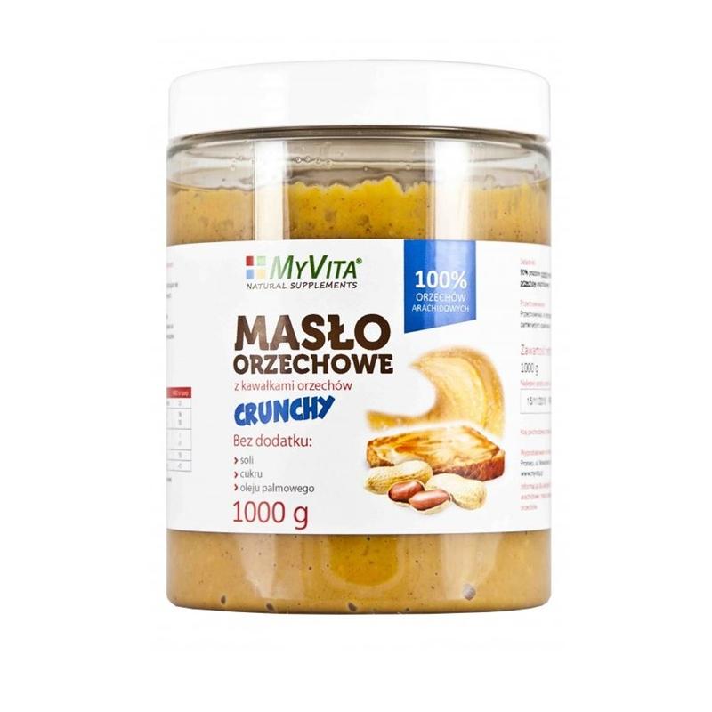 MyVita Masło Orzechowe Crunchy