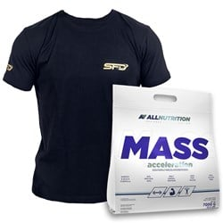 Mass Acceleration 7000g + T-shirt Athletic Czarny