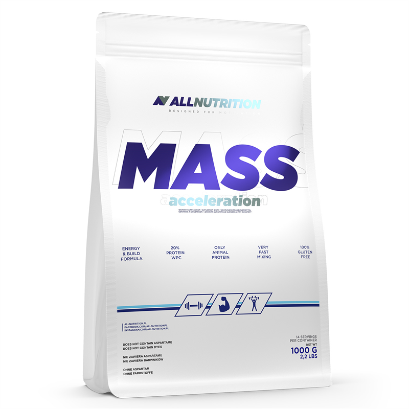 ALLNUTRITION Mass Acceleration