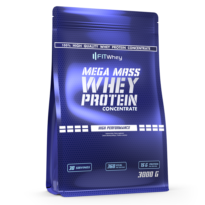 FitWhey Mega Mass Whey Protein Concentrate