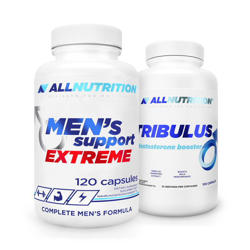 ALLNUTRITION Men's Support 120caps + Tribulus 100caps