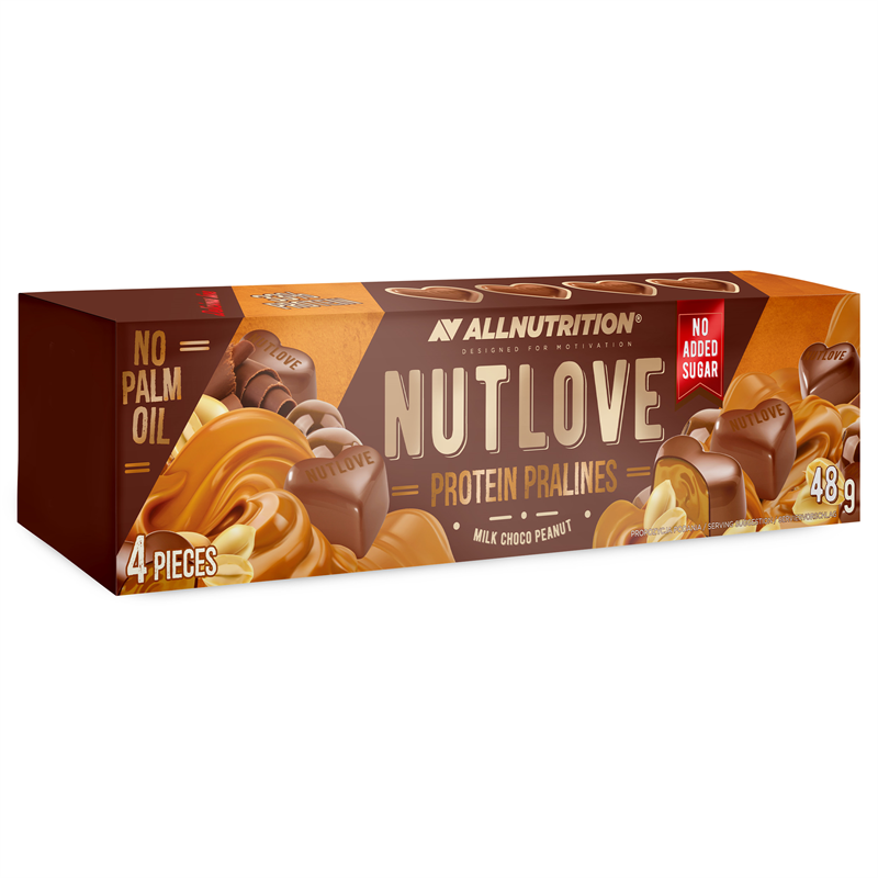 ALLNUTRITION NUTLOVE Protein Pralines Milk Choco Peanut