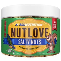 NUTLOVE SALTY NUTS Rozmaryn z Trawą cytrynową