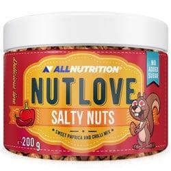 NUTLOVE SALTY NUTS Słodka Papryka i Papryka Chili