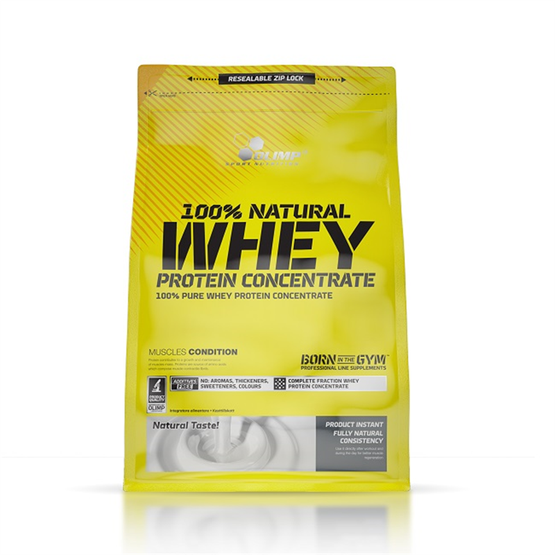 Natural 100%  Whey Protein Concentrate