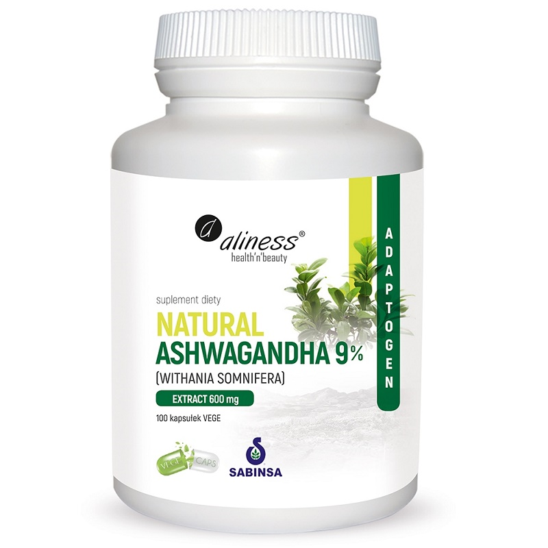 Medicaline Natural Ashwaganda 600 mg 9%