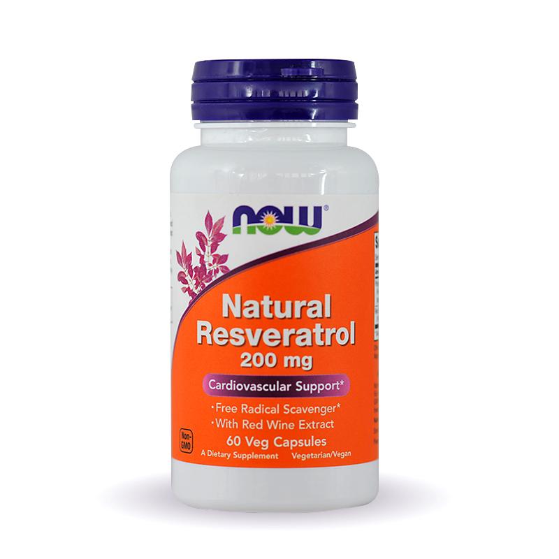 Now Natural Resveratrol