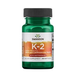 Natural Vitamin K-2 with Nattokinase