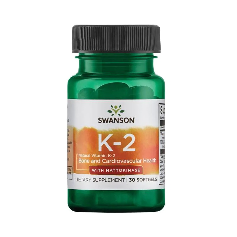Swanson Natural Vitamin K-2 with Nattokinase