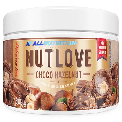 Nutlove Choco Hazelnut 500g + 2x Nutlove Wholenuts 30g Gratis