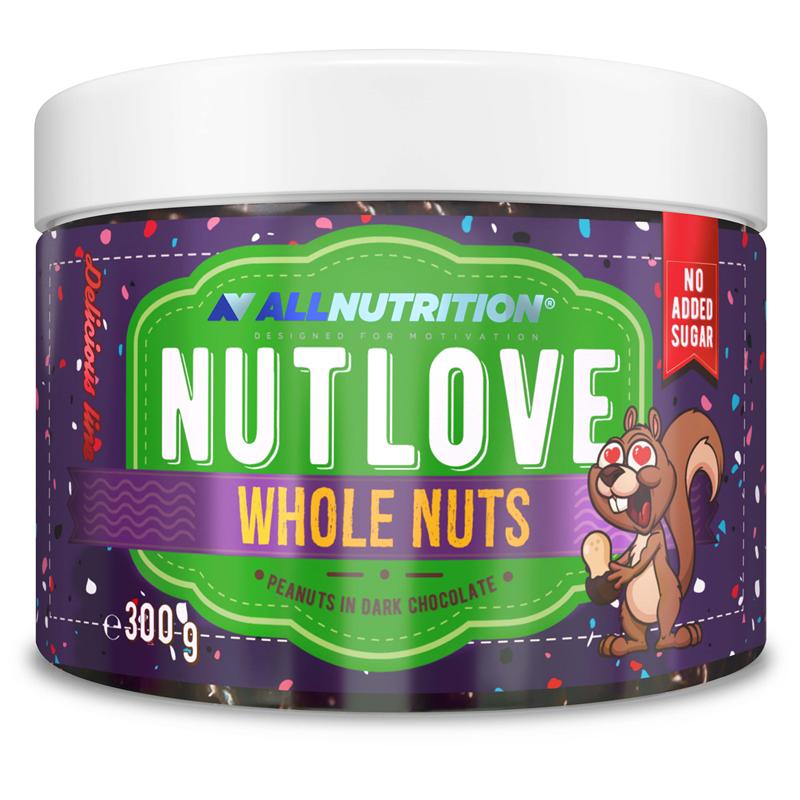 Nutlove Wholenuts - Arachidy W Ciemnej Czekoladzie