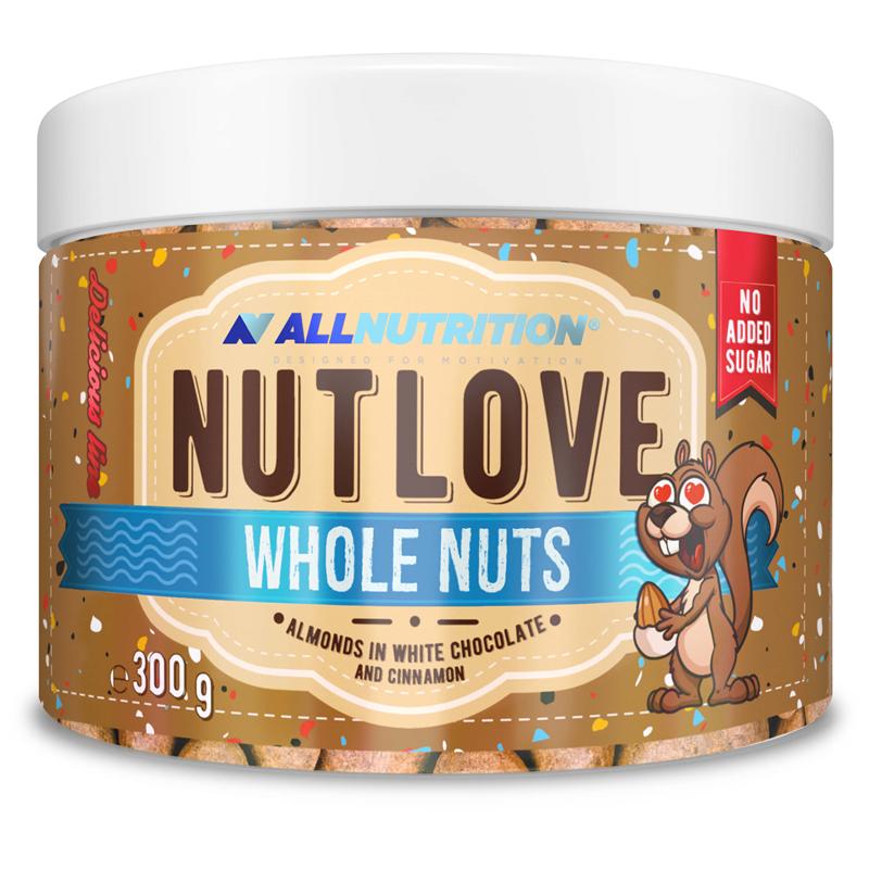 Nutlove Wholenuts - Migdały W Białej Czekoladzie I Cynamonie 300g+150g Gratis