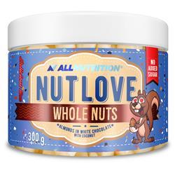 Nutlove Wholenuts - Migdały W Białej Czekoladzie Z Kokosem