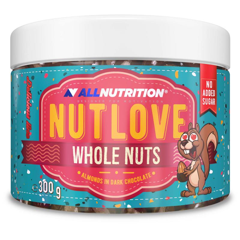 Nutlove Wholenuts - Migdały W Ciemnej Czekoladzie