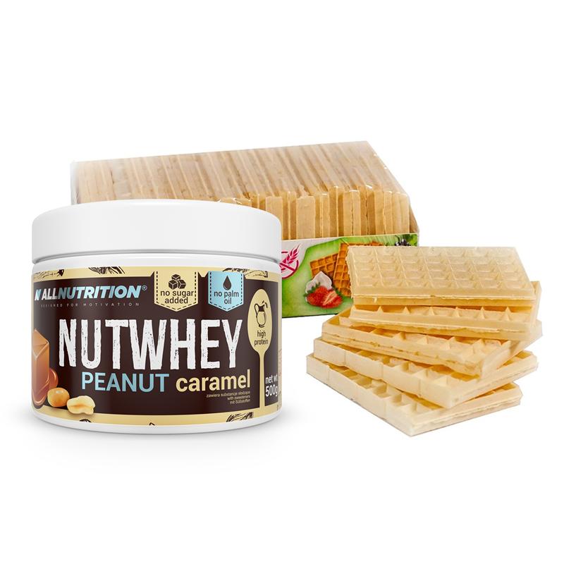 ALLNUTRITION Nutwhey 500g + Chrupaki Bezglutenowe 80g