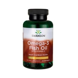 OMEGA-3 FISH OIL WITH VITAMIN D