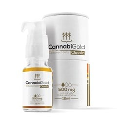 Olejek CBD CannabiGold Classic 500 mg