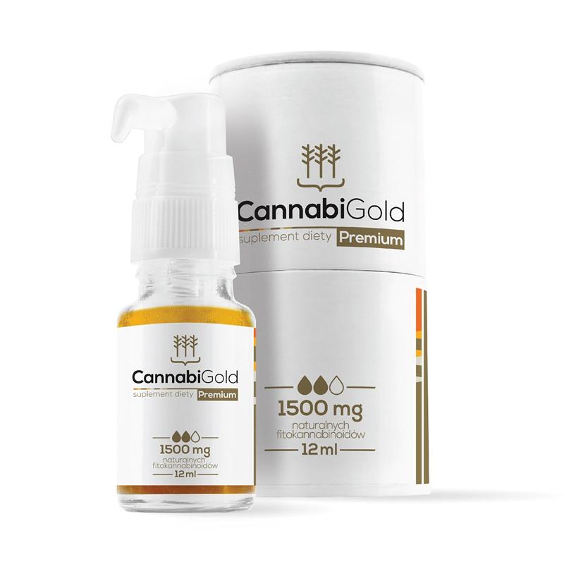 CannabiGold Olejek CBD CannabiGold Premium 1500 mg