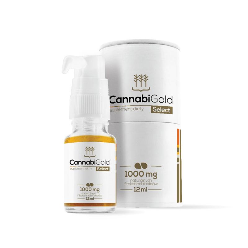 CannabiGold Olejek Select 1000mg CBD