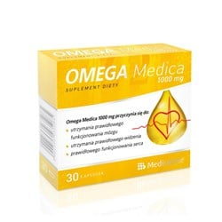 Omega Medica 1000mg z Wit.E