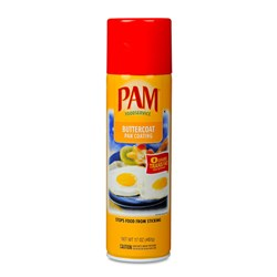 PAM cooking spray Buttercoat