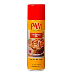 PAM cooking spray Grill