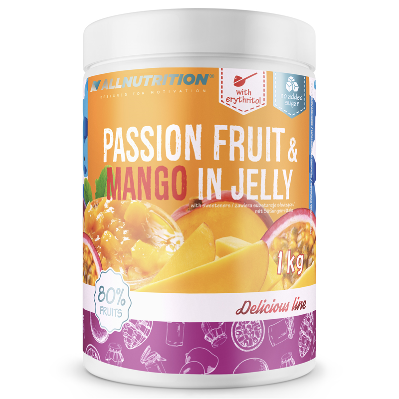 ALLNUTRITION Passion Fruit & Mango In Jelly