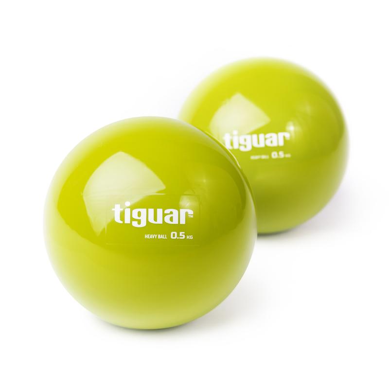 Tiguar Piłka heavyball 0,5 kg - oliwka