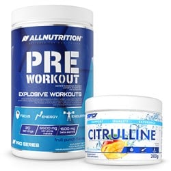 Pre Workout Pro Series 600g + Citrulline 200g GRATIS
