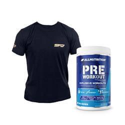 Pre Workout Pro Series 600g + T-Shirt Athletic Gratis