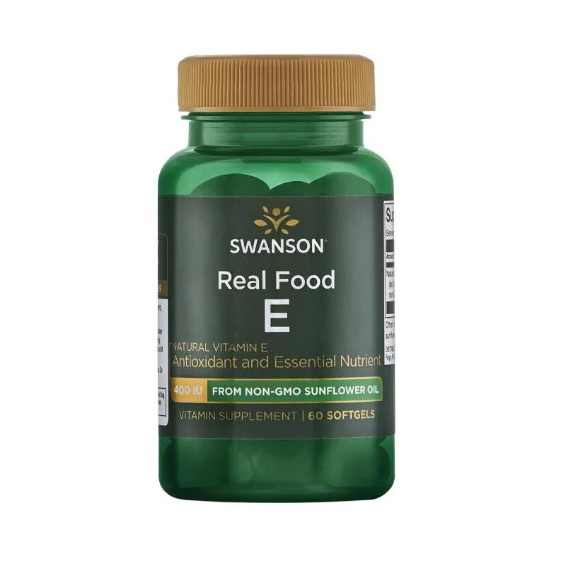 Swanson REAL FOOD Natural Vitamin E