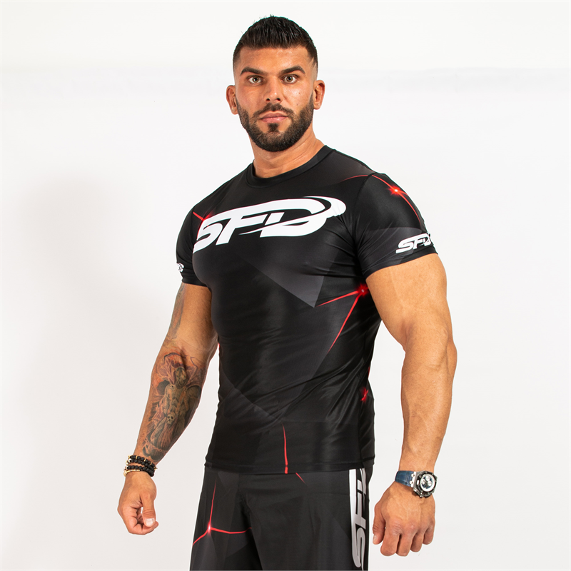 Rashguard Short Sleeve Black