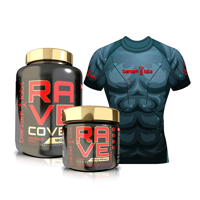 Berserk Labs Rave + Rave Cover + Rashguard