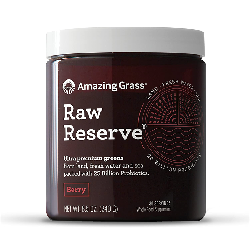 Amazing Grass Raw Reserve Ultra Premium Berry