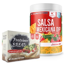 Salsa Mexicana Dip 1000g + Proteineo Bread 110g Gratis