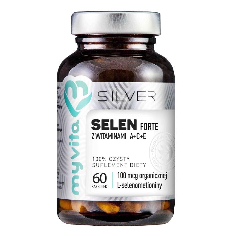 MyVita Selen Forte z witaminami A+C+E Silver Pure