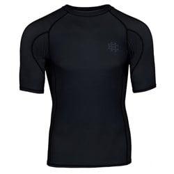Short Sleeve Rashguard Active Black